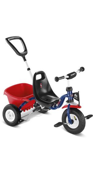 Puky CAT 1 L - Tricycle Enfant - rouge/bleu